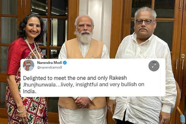 PM Modi meets Jhunjhunwala