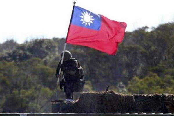 china infiltration again in taiwan