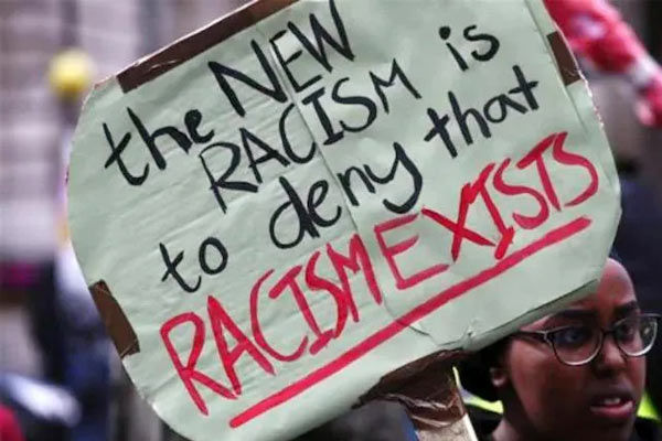 Race hate crimes register 12 percent increase over past year in England Wales