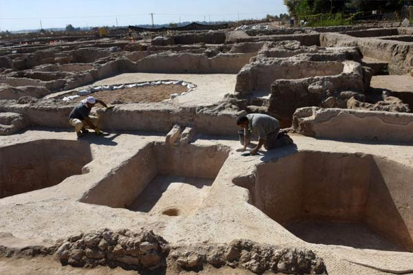 1500-year-old wine complex in Israel