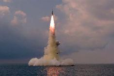 north korea tests ballistic missile from submarine
