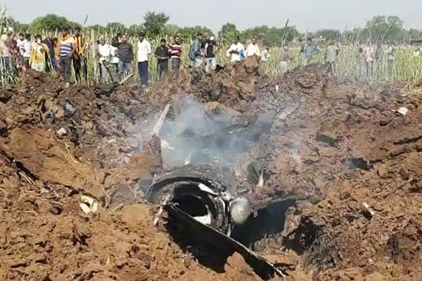 IAF plane crashes in Bhind