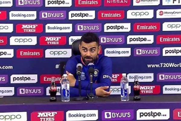 virat said in the press conference throw rohit sharma out of the team