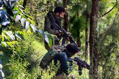 Encounter between terrorists and security forces again today in Nad Khas area in Poonch