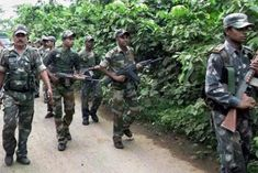 Naxalites were killed in an encounter between Geryhounds and Maoists at Bijapur, which is located ne