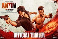 Trailer release of Salman Khan and Aayush Sharma starrer Antim The Final Truth